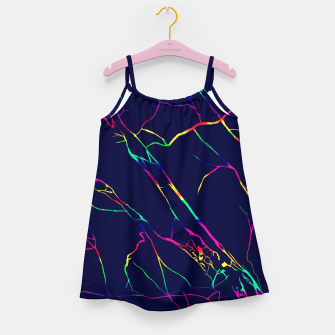 Thumbnail image of Colorful veins Girl's dress, Live Heroes