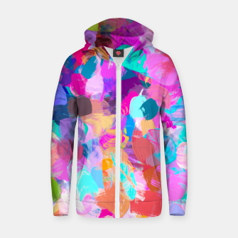 Thumbnail image of Candy Shop Zip up hoodie, Live Heroes