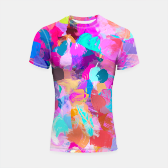 Thumbnail image of Candy Shop Shortsleeve rashguard, Live Heroes