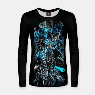 Miniature de image de The best Warriors Sudadera para mujeres, Live Heroes