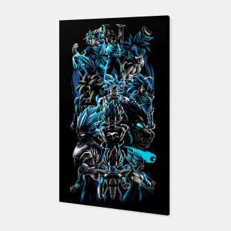 Miniature de image de The best Warriors Canvas, Live Heroes