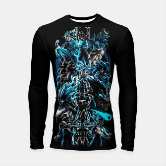 Miniature de image de The best Warriors Longsleeve rashguard, Live Heroes