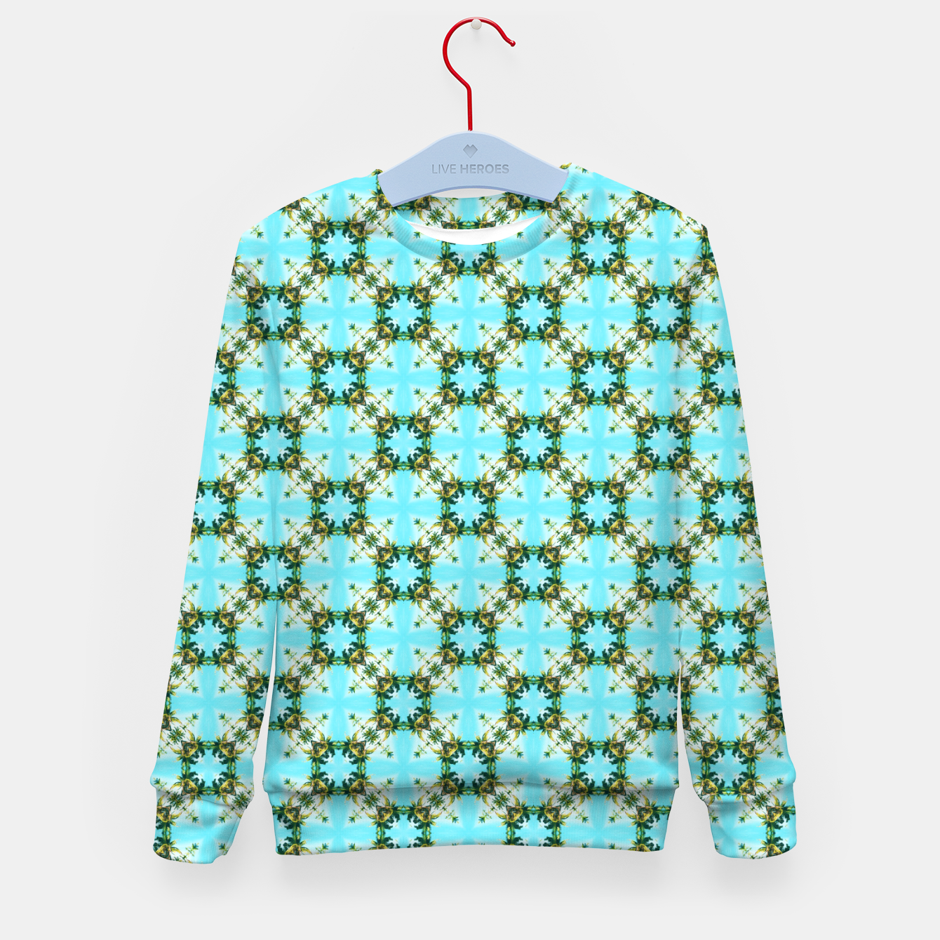 Image of Blue Sky Morocco Kid's sweater - Live Heroes