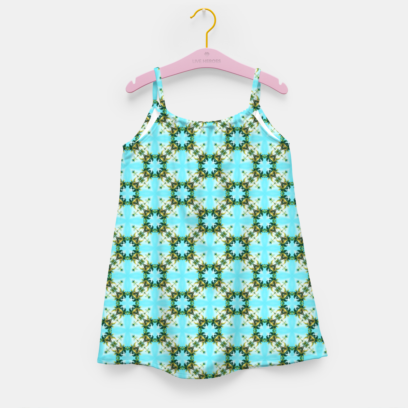 Image of Blue Sky Morocco Girl's dress - Live Heroes