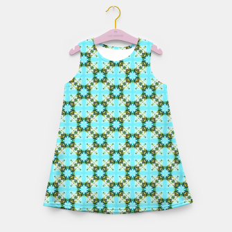 Blue Sky Morocco Girl's summer dress thumbnail image