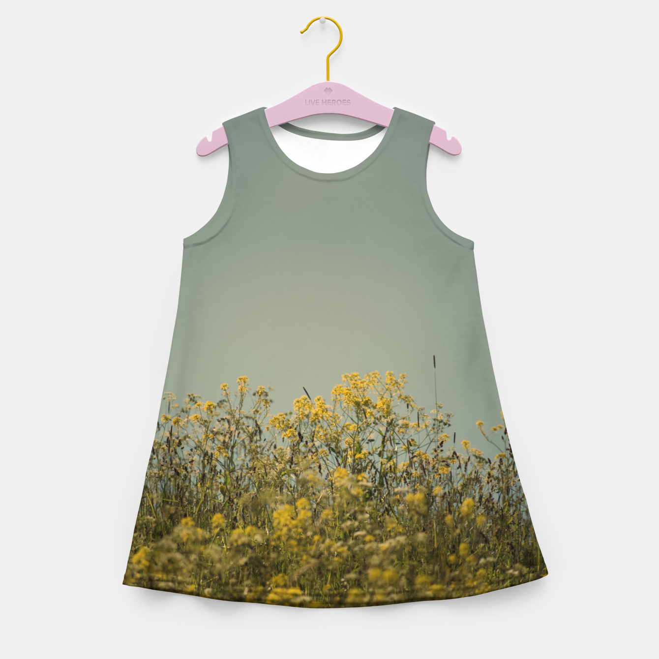 Image of On the island Girl's summer dress - Live Heroes