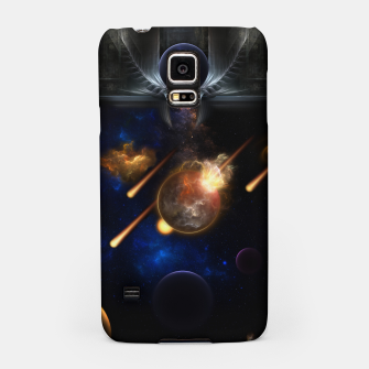 Thumbnail image of Asteroid Apocalypse Fractal Art Spacescape Samsung Case, Live Heroes