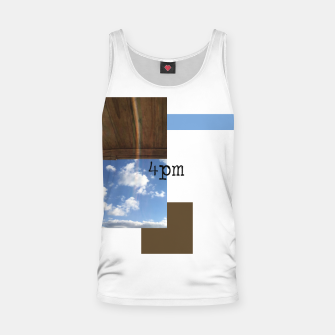 Thumbnail image of 4pm | perfectly minimal collection Tank Top, Live Heroes