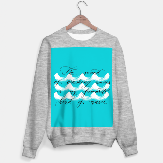 The Sound of Crashing Waves Sweater regular thumbnail image