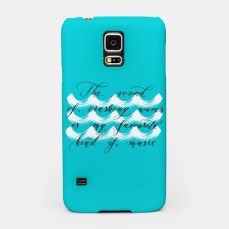 The Sound of Crashing Waves Samsung Case thumbnail image
