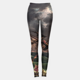 Miniaturka The Shipwreck by Laude Joseph Vernet Leggings, Live Heroes