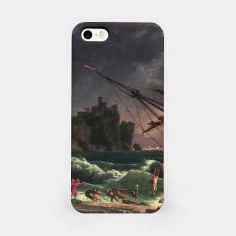 The Shipwreck by Laude Joseph Vernet iPhone Case thumbnail image