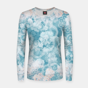 Thumbnail image of Floral pastel Women sweater, Live Heroes