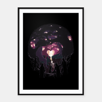 Thumbnail image of The Five Istari Framed poster, Live Heroes