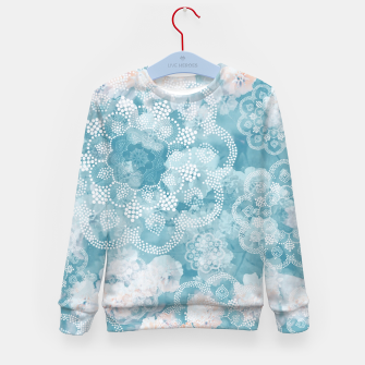 Thumbnail image of Floral pastel Kid's sweater, Live Heroes