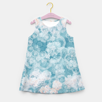 Thumbnail image of Floral pastel Girl's summer dress, Live Heroes