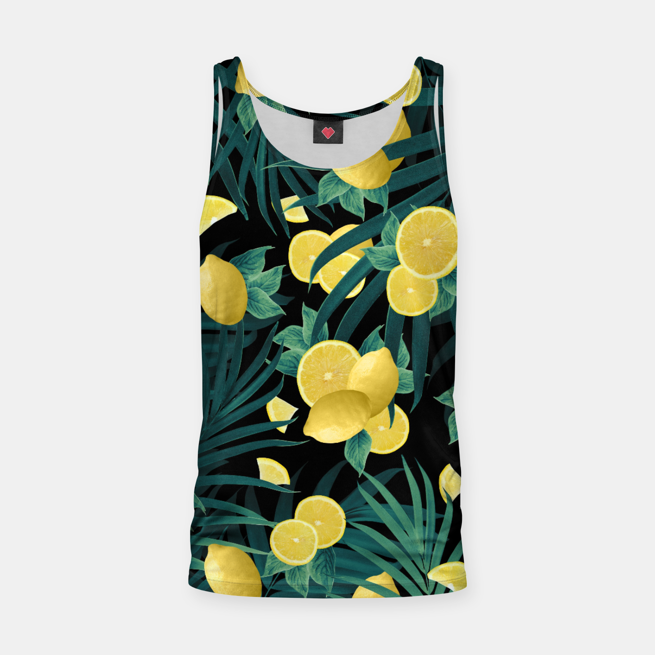 Image of Summer Lemon Twist Jungle Night #1 #tropical #decor #art  Muskelshirt  - Live Heroes