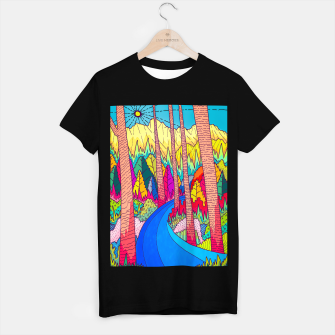Thumbnail image of Forest river  T-shirt regular, Live Heroes