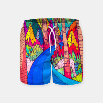 Thumbnail image of Forest river  Swim Shorts, Live Heroes