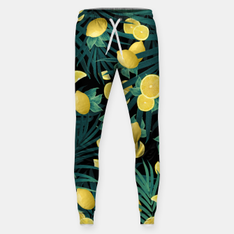 Summer Lemon Twist Jungle Night #1 #tropical #decor #art  Hosen thumbnail image