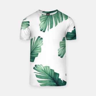 Tropical Banana Leaves Dream #5 #foliage #decor #art T-Shirt thumbnail image