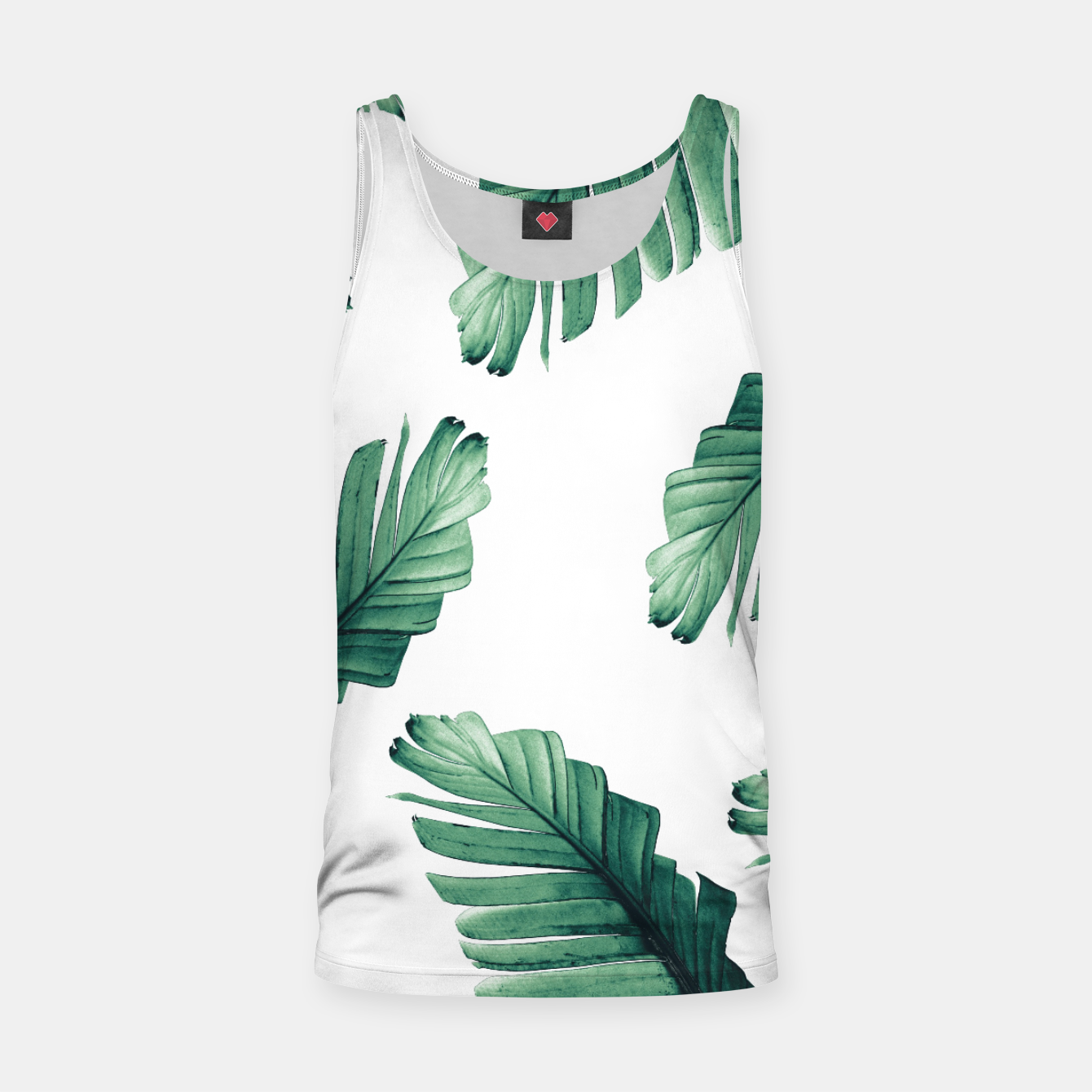 Image of Tropical Banana Leaves Dream #5 #foliage #decor #art Muskelshirt  - Live Heroes