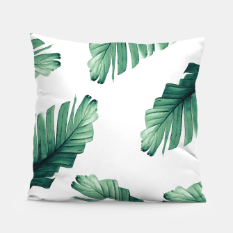 Thumbnail image of Tropical Banana Leaves Dream #5 #foliage #decor #art Kissen, Live Heroes