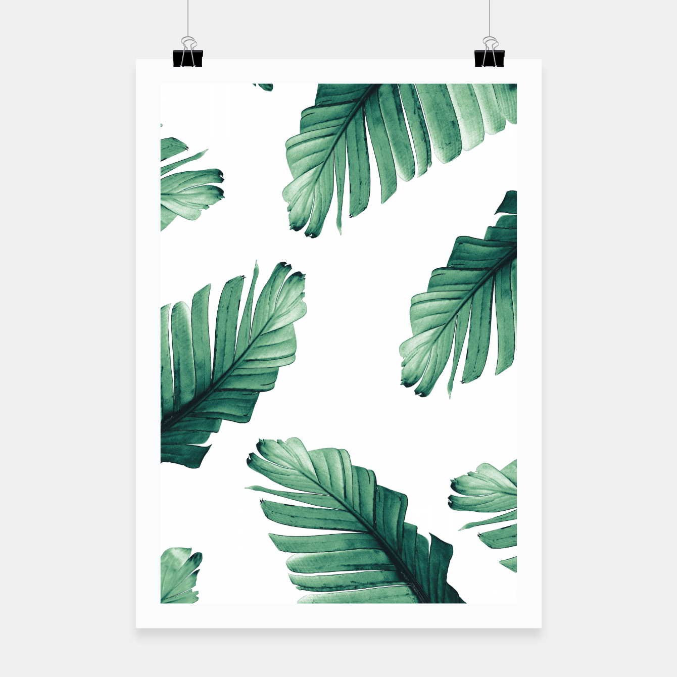 Image of Tropical Banana Leaves Dream #5 #foliage #decor #art Plakat - Live Heroes