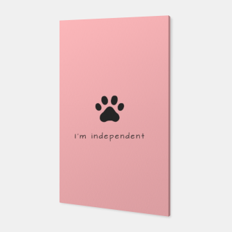 Thumbnail image of I'm independent Canvas, Live Heroes