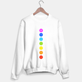 Thumbnail image of Chakras of the human body Sweater regular, Live Heroes