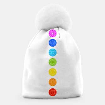 Thumbnail image of Chakras of the human body Beanie, Live Heroes