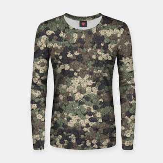 Thumbnail image of Sad frogs Pepe camo Women sweater, Live Heroes