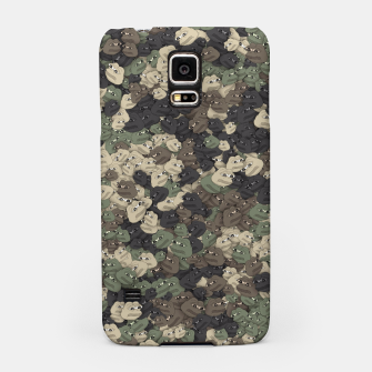 Thumbnail image of Sad frogs Pepe camo Samsung Case, Live Heroes