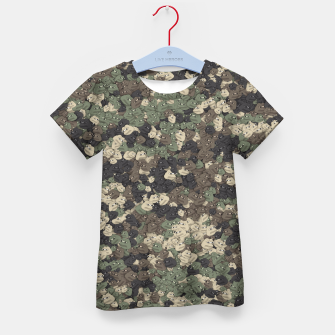 Thumbnail image of Sad frogs Pepe camo Kid's t-shirt, Live Heroes