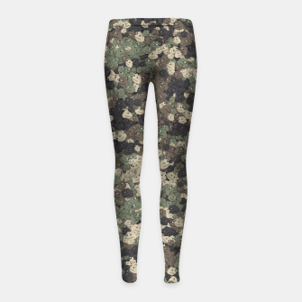 Miniature de image de Sad frogs Pepe camo Girl's leggings, Live Heroes