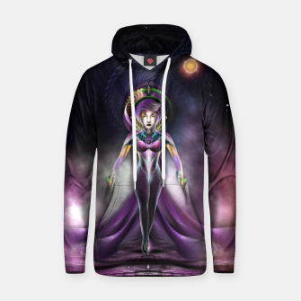 Miniaturka The Beauty Of Trilia Fractal Art Portrait Zm Hoodie, Live Heroes