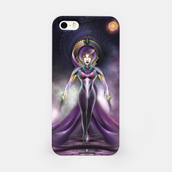 Miniaturka The Beauty Of Trilia Fractal Art Portrait Zm iPhone Case, Live Heroes