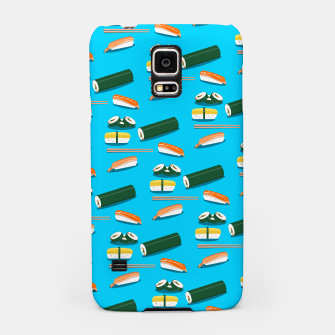 Miniatur Sushi Pattern Samsung Case, Live Heroes