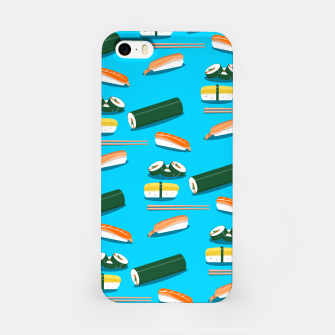 Miniatur Sushi Pattern iPhone Case, Live Heroes