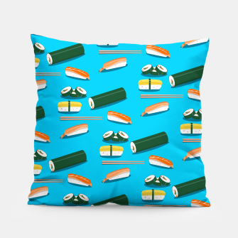 Miniatur Sushi Pattern Pillow, Live Heroes