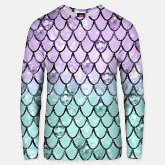 Thumbnail image of Mermaid Princess Glitter Scales #2 #shiny #pastel #decor #art  Unisex sweatshirt, Live Heroes