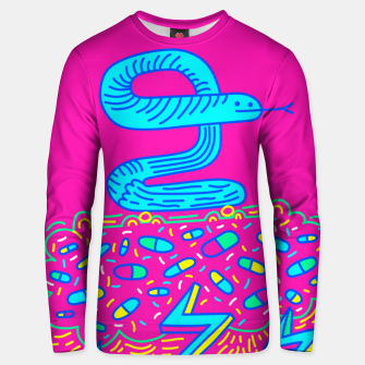 Miniatur The Snake Unisex sweater, Live Heroes