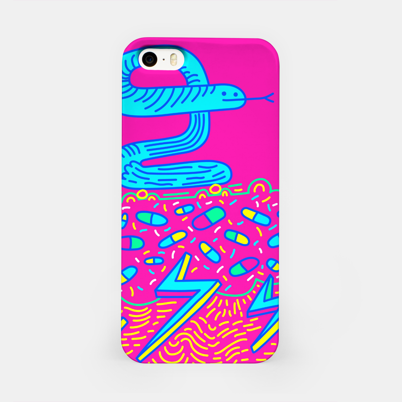 Zdjęcie The Snake iPhone Case - Live Heroes