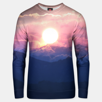 Thumbnail image of Starry Sunsets Unisex sweater, Live Heroes