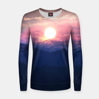 Thumbnail image of Starry Sunsets Women sweater, Live Heroes