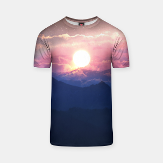 Thumbnail image of Starry Sunsets T-shirt, Live Heroes
