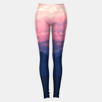 Thumbnail image of Starry Sunsets Leggings, Live Heroes
