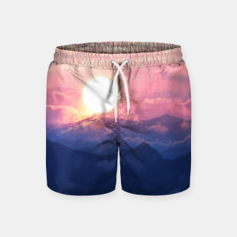 Thumbnail image of Starry Sunsets Swim Shorts, Live Heroes