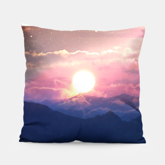 Thumbnail image of Starry Sunsets Pillow, Live Heroes