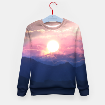 Thumbnail image of Starry Sunsets Kid's sweater, Live Heroes